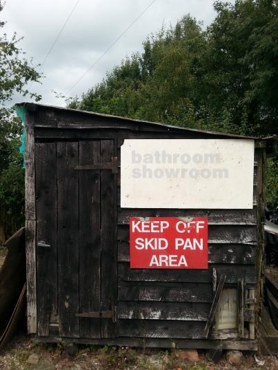 Bathroom shed